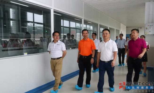 风华高科王广军董事长带队拜访惠州、潮州企业