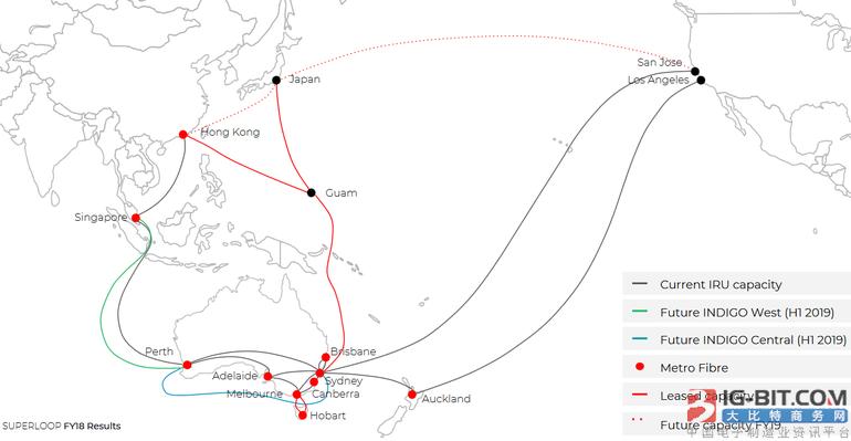 澳洲-新加坡-印尼海底光缆INDIGO有望提前竣工
