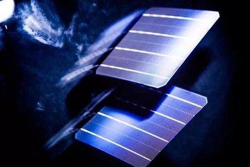 隆基乐叶双面PERC电池摘冠2018太阳能电池中国最高效率