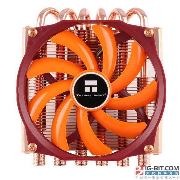 时隔十年!利民再发纯铜CPU散热器
