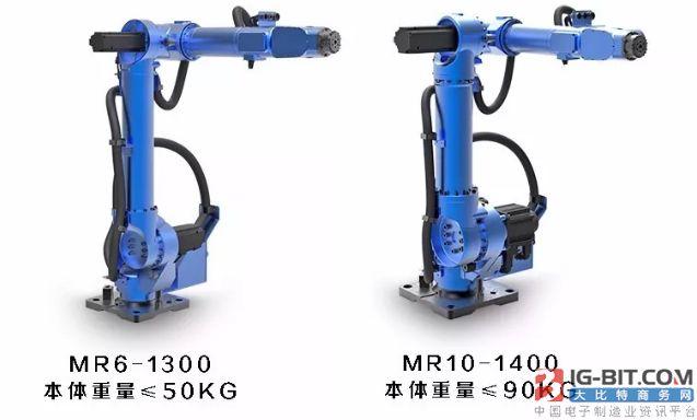 启帆推出MR轻型模块化准协作机器人