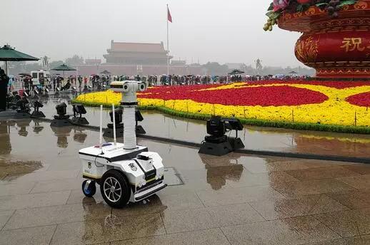 高新兴打造安防行业巡逻机器人引领者