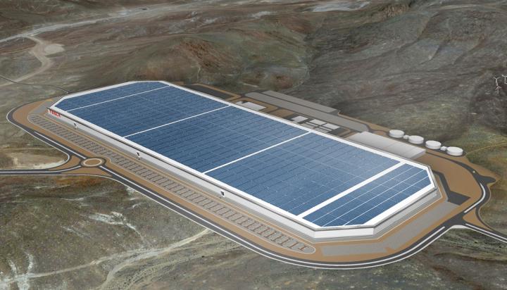 特斯拉超级工厂将在年底前实现100%太阳能供电