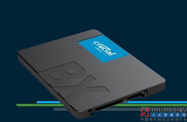 英睿达发布入门级BX500固态硬盘