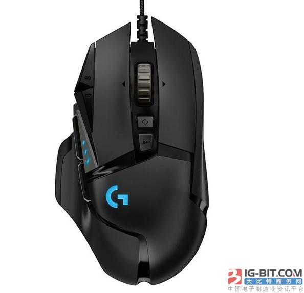 罗技经典G502鼠标再升级