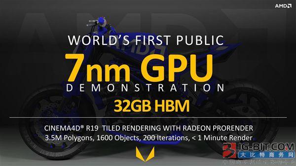AMD确认7nm Vega显卡今年发布:是否有游戏卡存疑