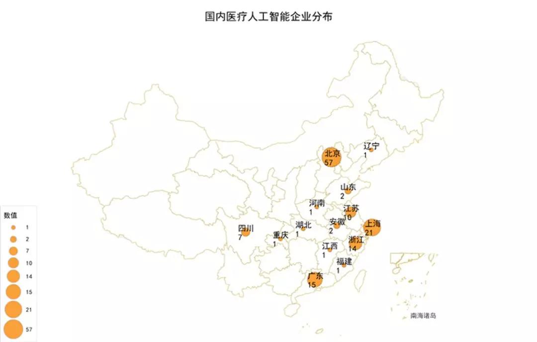 浅析中国医疗人工智能产业集聚区