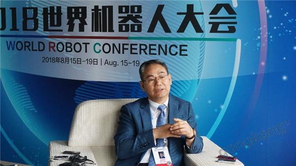 曲道奎谈新松机器人:时代机遇下的奋起