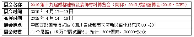 2019成都建筑及装饰照明展览会参展邀请函