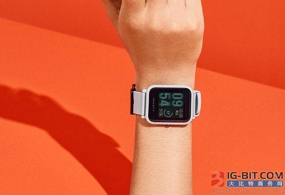 华米智能手表成为全球第3大畅销智能手表