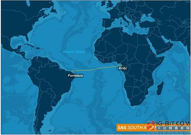中国联通主导的首条南大西洋国际海底光缆全线贯通