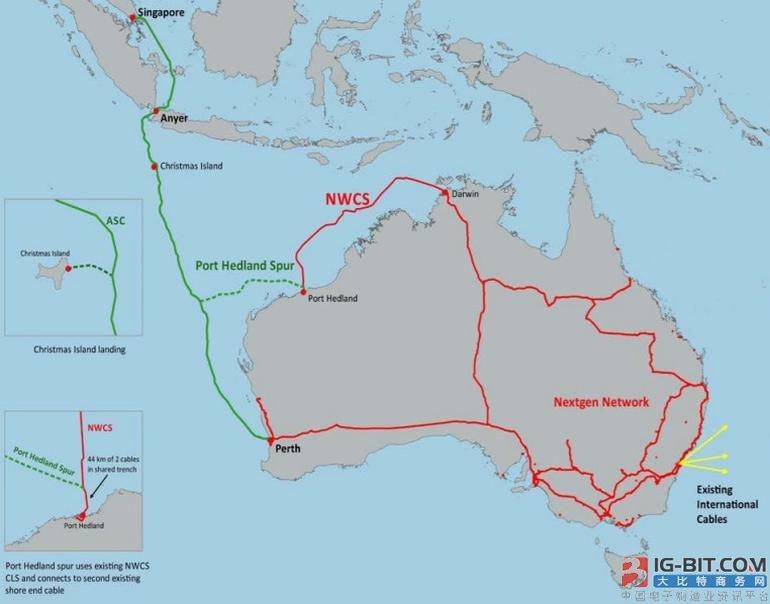 SEA-ME-WE3故障 新加坡-澳洲ASC海缆提前投运