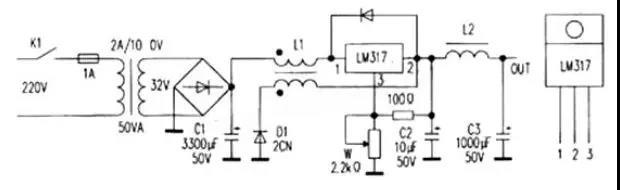 用三端稳压块制作开关电源
