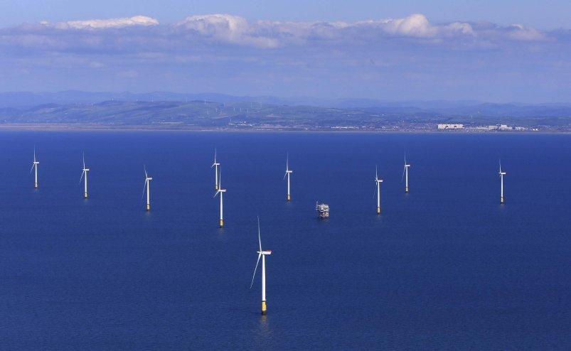 全球最大海上风电场Walney Extension正式开建