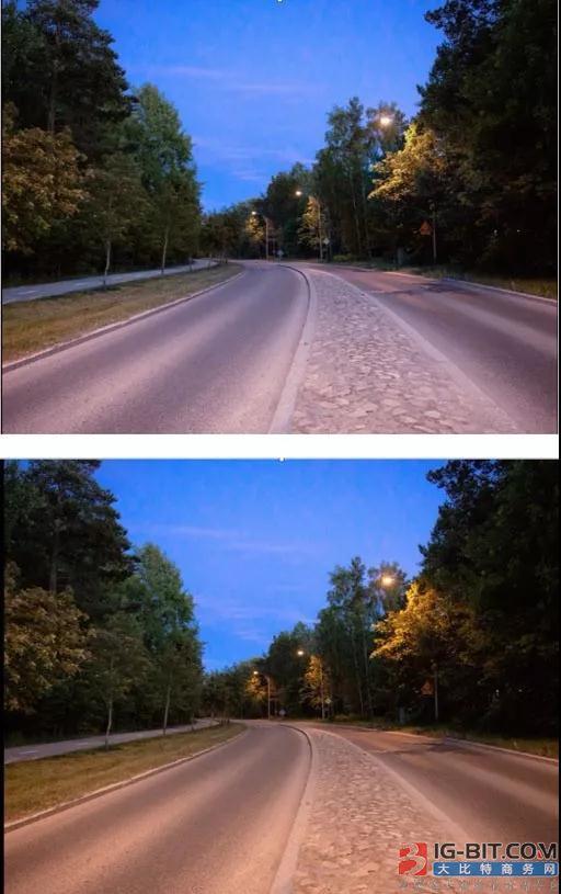 """欧洲最大的可调色温路灯项目PK""""中国创造""""多色温防雾霾LED路灯项目"""