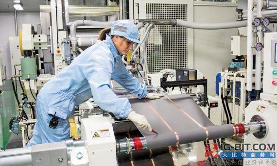 LG化学上调2020年电池产能目标至90GWh