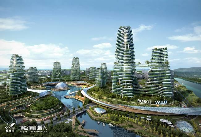 地产商进军智能制造 拟斥资800亿机器人谷项目正式落地