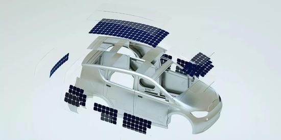 德国公司将推出太阳能汽车 实现边开车边充电