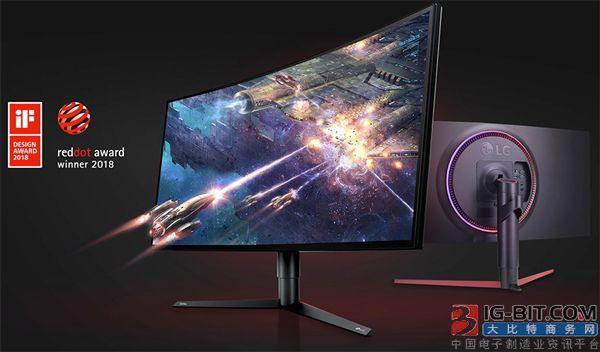 LG发布34GK950曲面带鱼屏显示器
