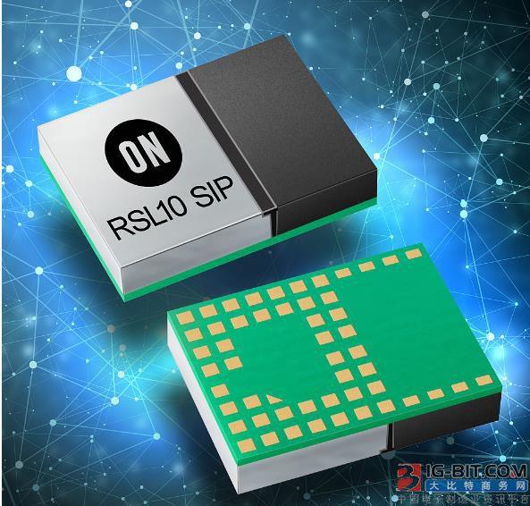 """安森美蓝牙5无线电系统级封装(SiP)模块进一步简化""""智能互联"""""""
