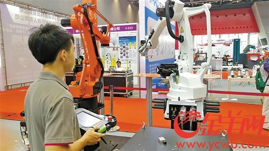 江门机器人走出独具特色产业道路