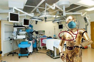 手术教学机器人越来越逼真 机器人医疗或将迎来大爆发