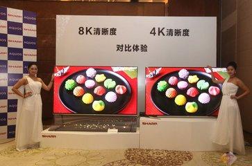 8K+5G生态梦想更进一步 夏普发布第二代8K电视