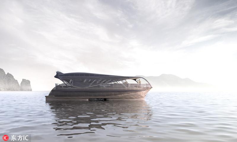 瑞士研发世界第一艘太阳能远洋游艇