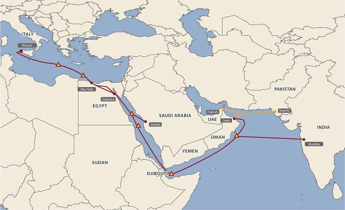 埃及电信9000万美元收购MENA海底光缆交易完成