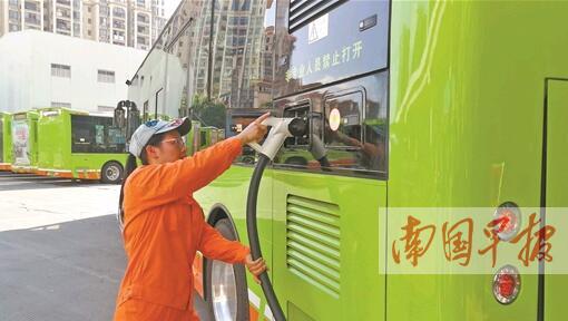 南宁岸公交场站外15个充电桩将开放使用