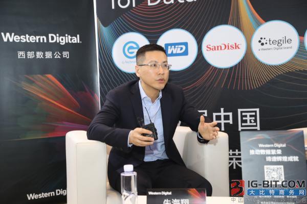 西部数据产品市场部副总裁朱海翔
