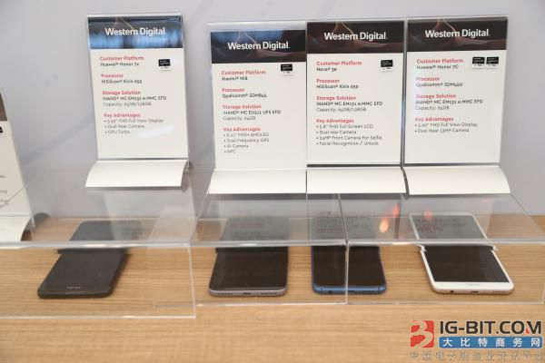 西部数据手机产品