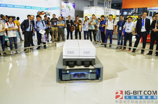 MiR自主移动机器人大显身手 成就智能制造产业升级