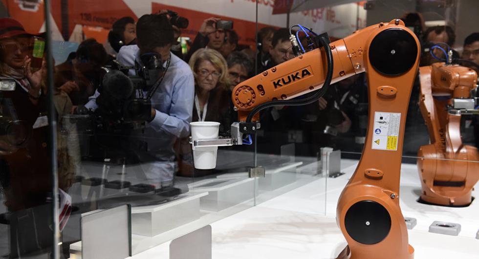中国需求量太大 德国工业机器人出口高速增长