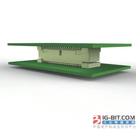 TE Connectivity推出堆叠PCB应用设计的连接器,0.8mm实现速度32Gbps+