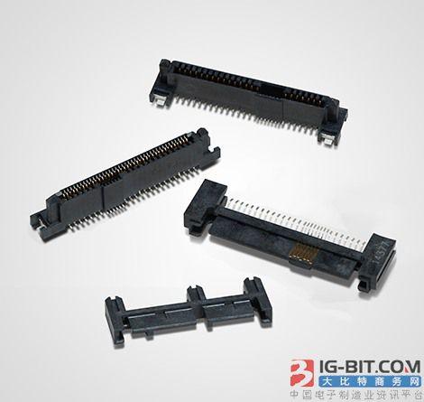 TE Connectivity的SAS硬盘连接器,符合OCP防雷击硬件系统规范