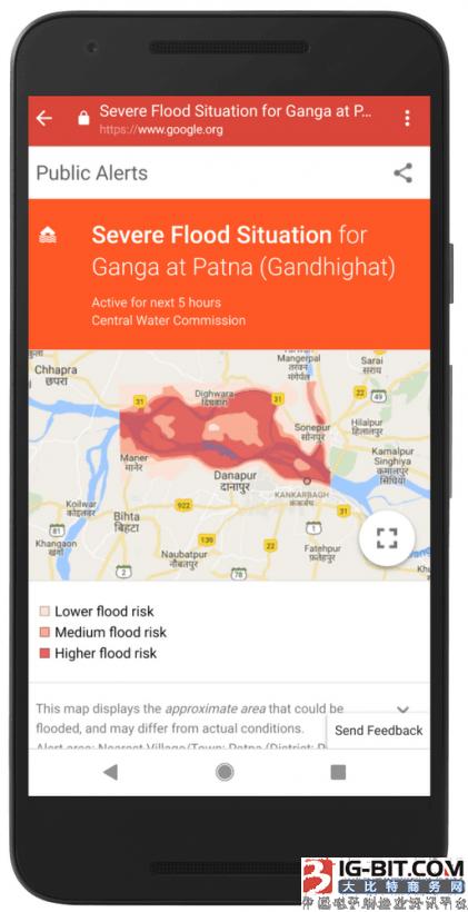Google正用AI技术为印度人预报洪水