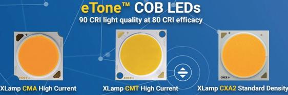 科锐推出新型eTone LED 功效高达155流明每瓦
