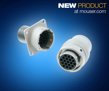 Amphenol LPT系列连接器在贸泽开售 ,为一般工业环境和恶劣环境而设