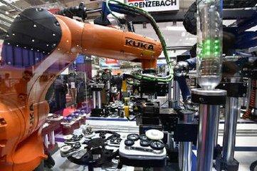 中国市场需求强劲 德国工业机器人出口高速增长