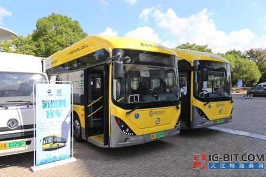 上海首条燃料电池公交线路正式上线