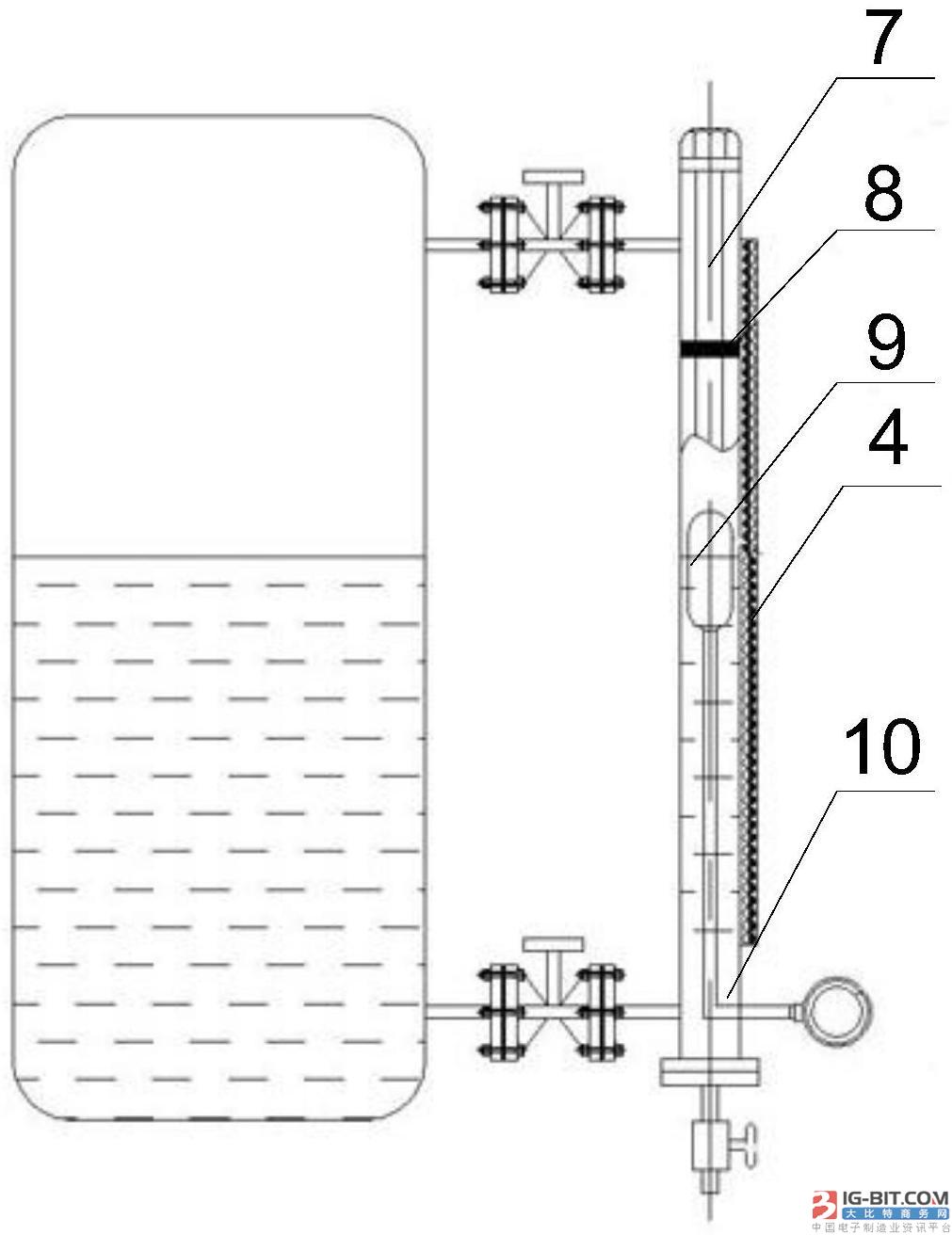 【仪表专利】一种磁性浮子液位计