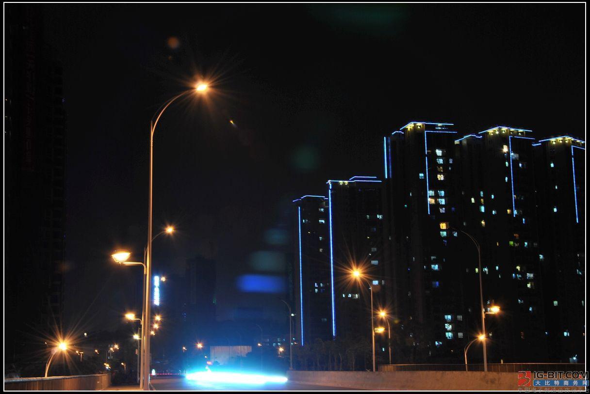 LED跌价+路灯标案减少,佰鸿前8月营收同比减少