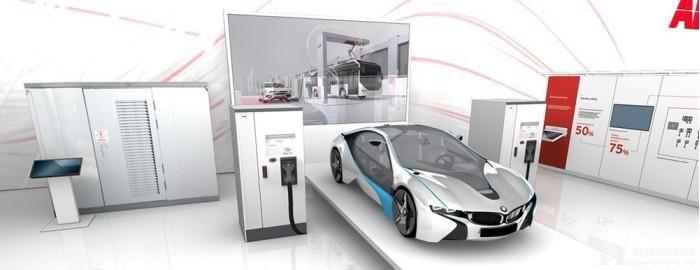 充电8分钟行驶200km ABB推出350kW汽车快充充电桩