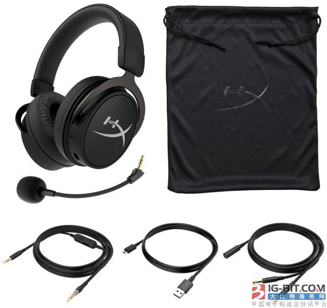 HyperX公布了最新有线/无线混合型游戏耳机