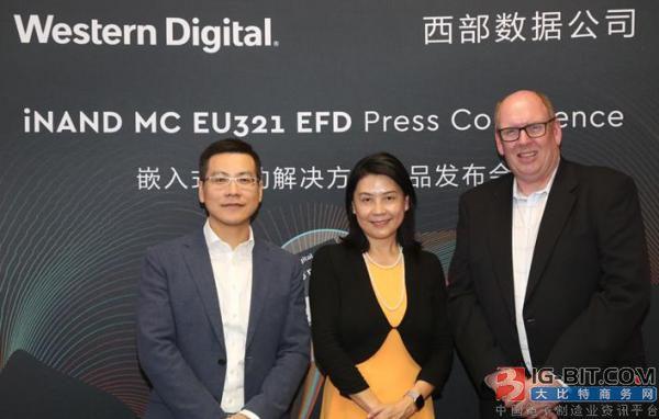 西部数据公司高级副总裁兼中国区总经理-Steven Craig