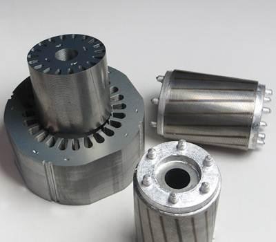 案例讨论:6极220kW铸铝转子电机断轴实例