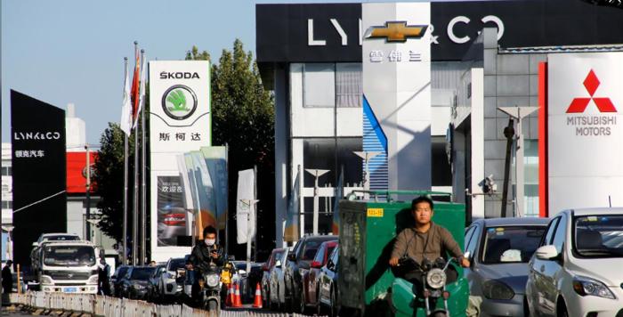 外媒:中国汽车经销商要求降低购置税 以提振汽车销量