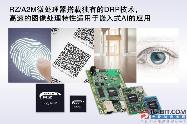 瑞萨推出可实现高速图像处理和嵌入式人工智能应用的RZ/A2M微处理器