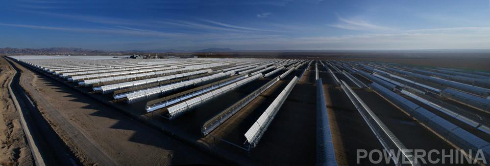 中广核新能源青海德令哈50兆瓦光热项目投运